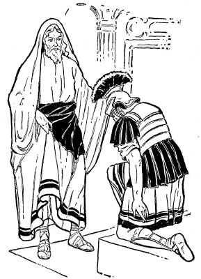 centurion servant coloring pages - photo#22