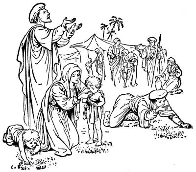 Israelites leaving egypt coloring page coloring pages